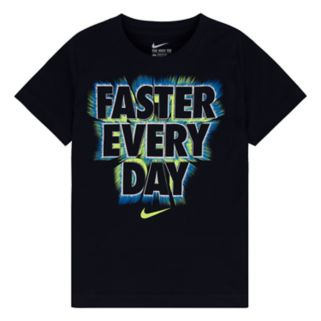"""Boys 4-7 Nike """"Faster Every Day"""" Tee"""