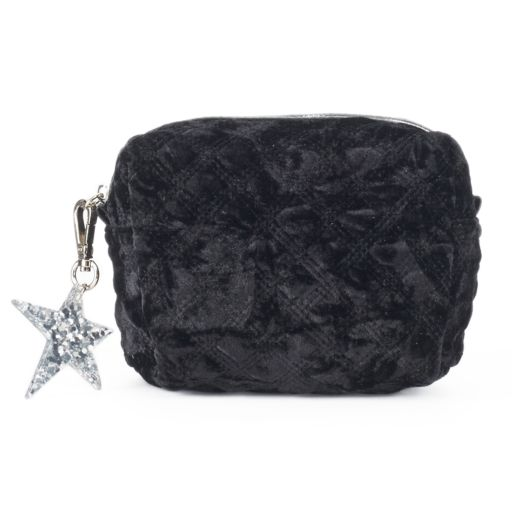 SO® Quilted Velvet Pouch