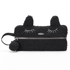 SO® Embroidered Cat Pencil Case