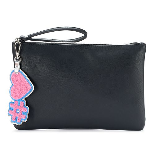SO® Heart Key Chain Wristlet