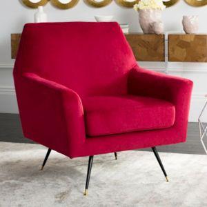 Safavieh Nynette Velvet Accent Chair