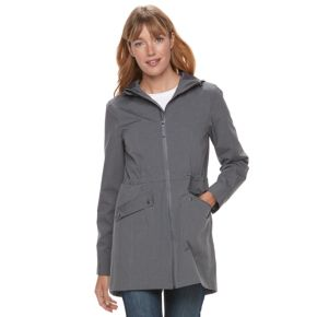 Women's Tek Gear Hooded Rain Jacket