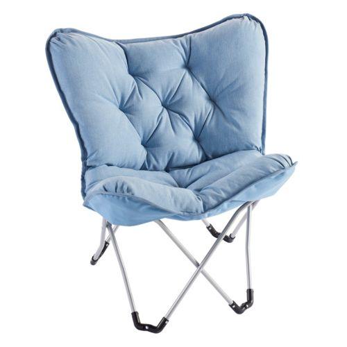Simple By Design Memory Foam Butterfly Chair