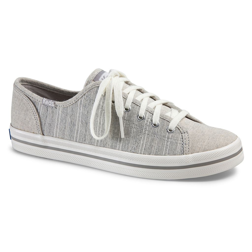 Keds Kickstart Slub Stripe Women's Ortholite Sneakers