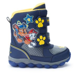 Paw Patrol Toddler Boys' Light-Up Winter Boots