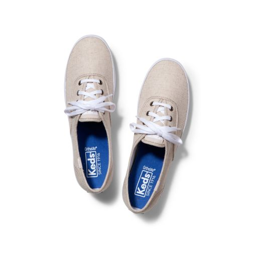 Keds Champion Linen Women's Ortholite Sneakers