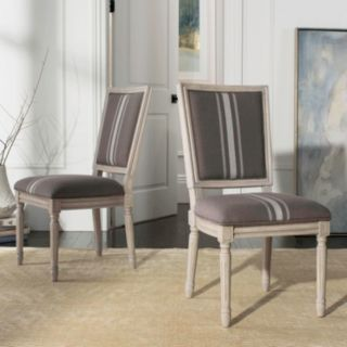 Safavieh Buchanan Upholstered Dining Chair 2-piece Set