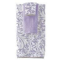 Pacific Coast Textiles Filigree Swirl 6-piece Yarn Dyed Bath Towel Set