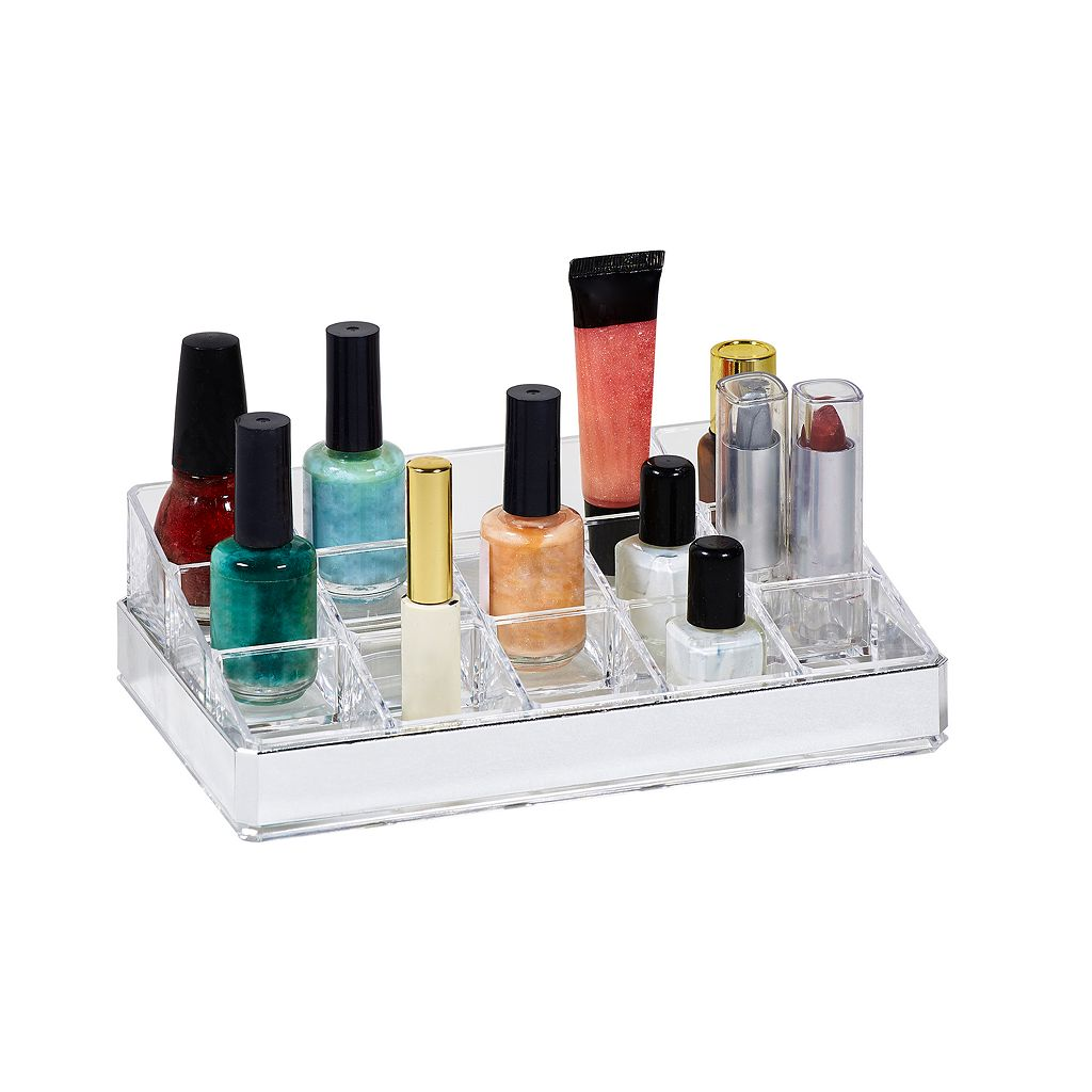 Simplify 15-Compartment Cosmetic & Jewelry Holder