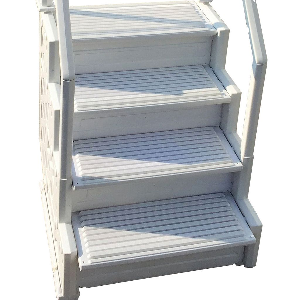Blue Wave Simple Step 32.5-in Step for Above Ground Pool Stairs