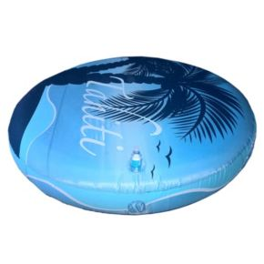 Blue Wave Drift + Escape 72-in Circular Floating Island Pool Float