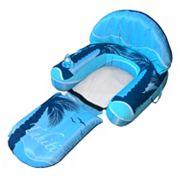 Blue Wave Drift + Escape Inflatable Pool Lounger Float