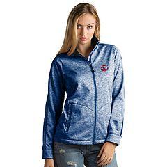 Women's Antigua Detroit Pistons Golf Jacket
