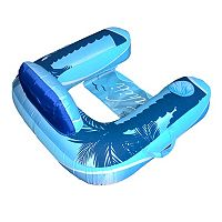 Blue Wave Drift + Escape U-Seat Inflatable Lounger Pool Float