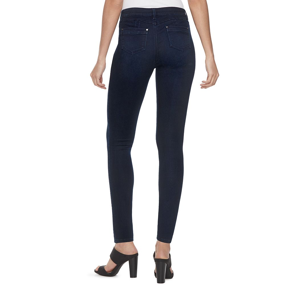 Women's Jennifer Lopez Embellished Super Skinny Jeans