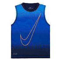 Boys 4-7 Nike Sublimated Logo Muscle Tank Top