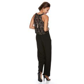 Women's Scarlett Lace Popover Jumpsuit