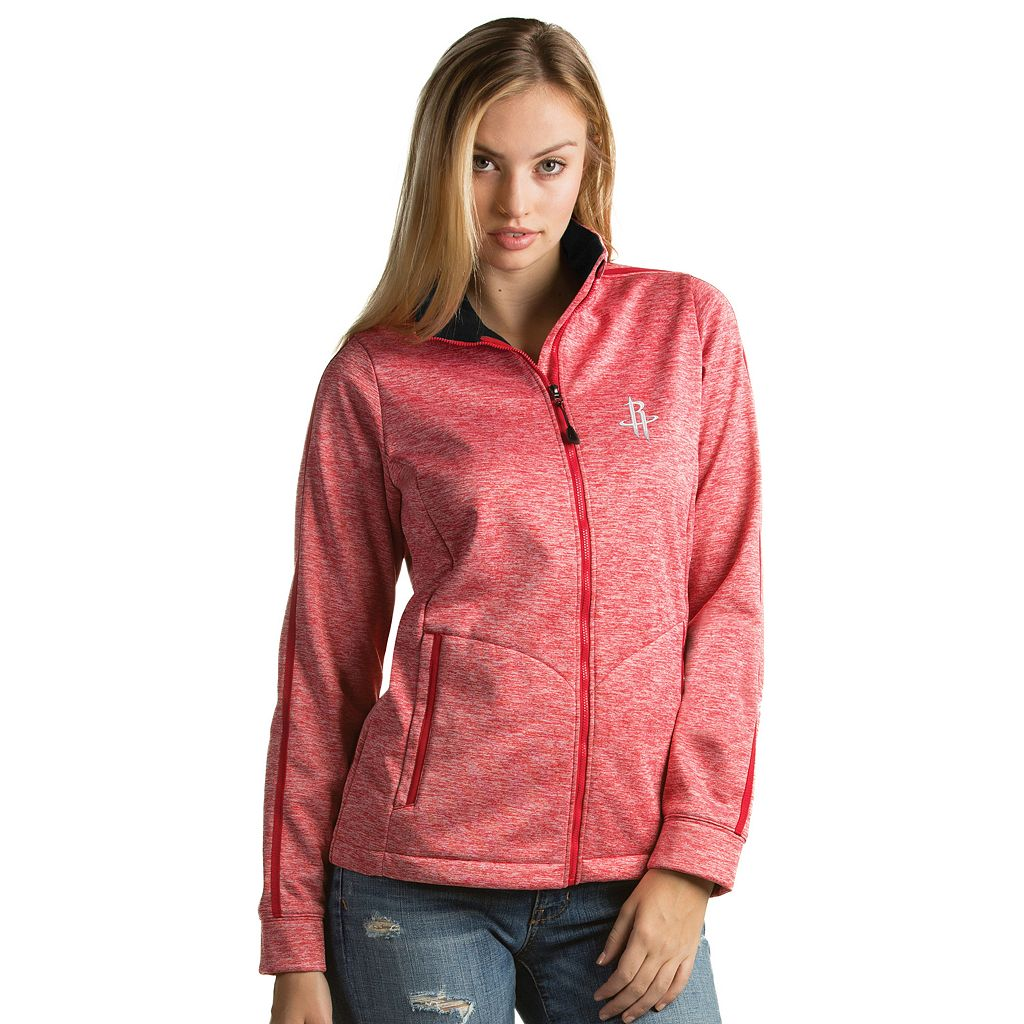 Women's Antigua Houston Rockets Golf Jacket