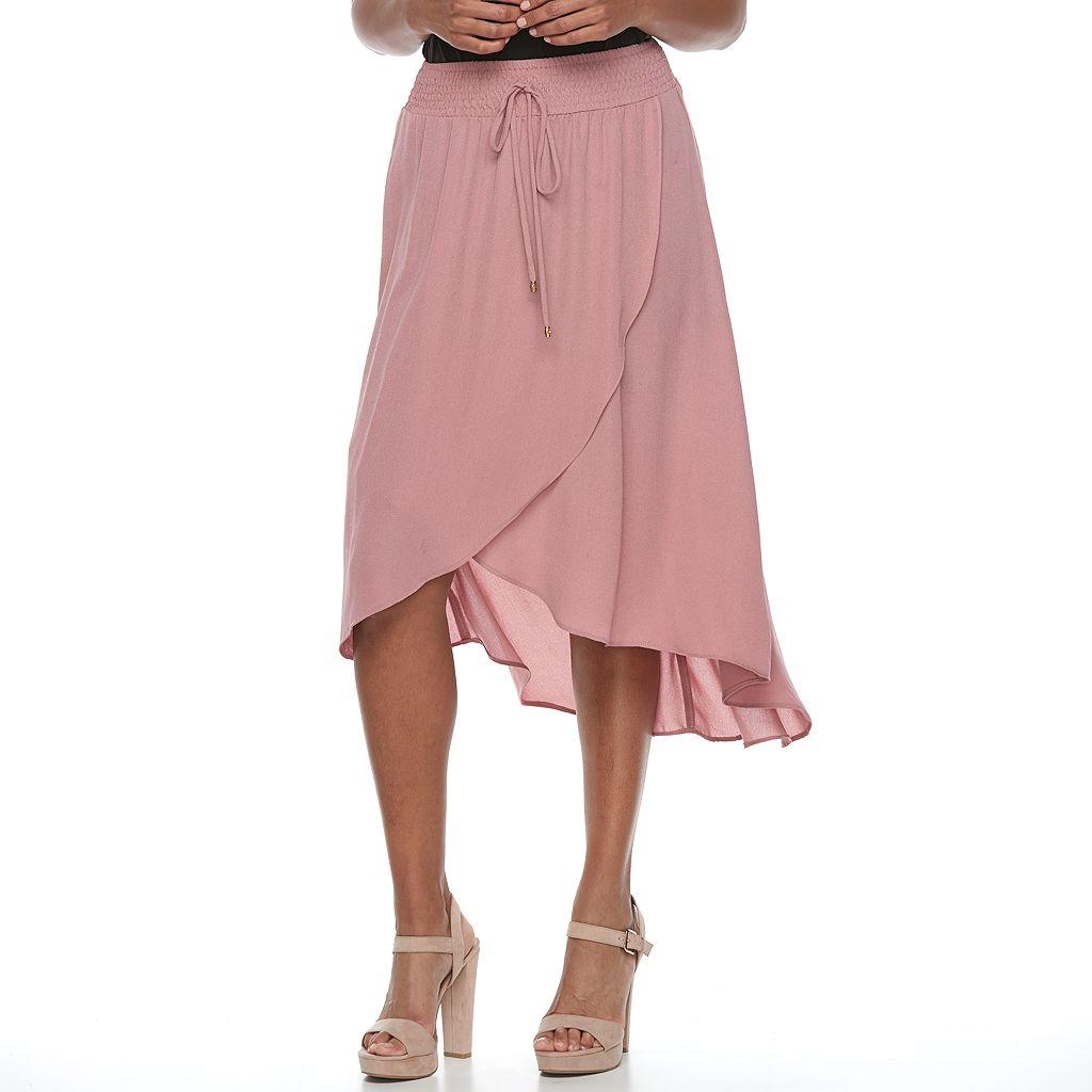 Women's Apt. 9® Tulip Faux-Wrap Skirt