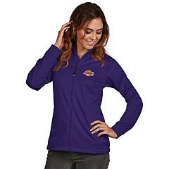 Women's Antigua Los Angeles Lakers Golf Jacket