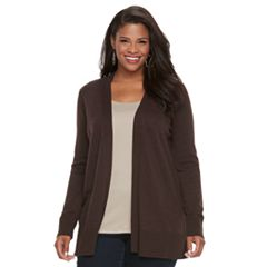 Sale Womens Brown Cardigan Sweaters - Tops, Clothing   Kohl's