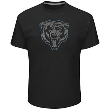 Big & Tall Majestic Chicago Bears Tonal Logo Tee