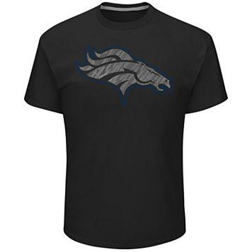 Big & Tall Majestic Denver Broncos Tonal Logo Tee