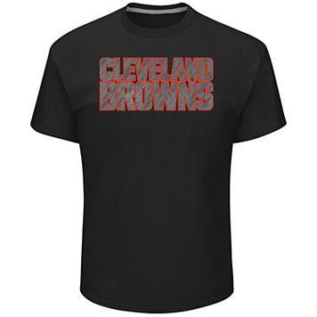 Big & Tall Majestic Cleveland Browns Tonal Logo Tee