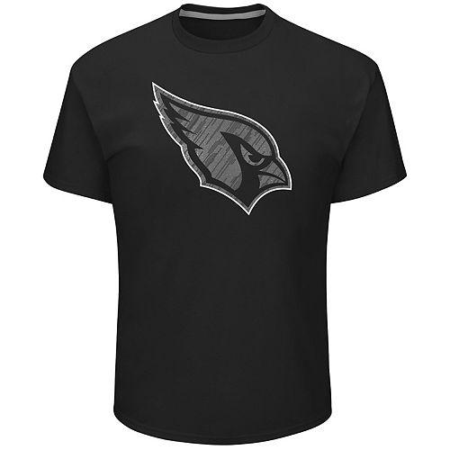 Big & Tall Majestic Arizona Cardinals Tonal Logo Tee