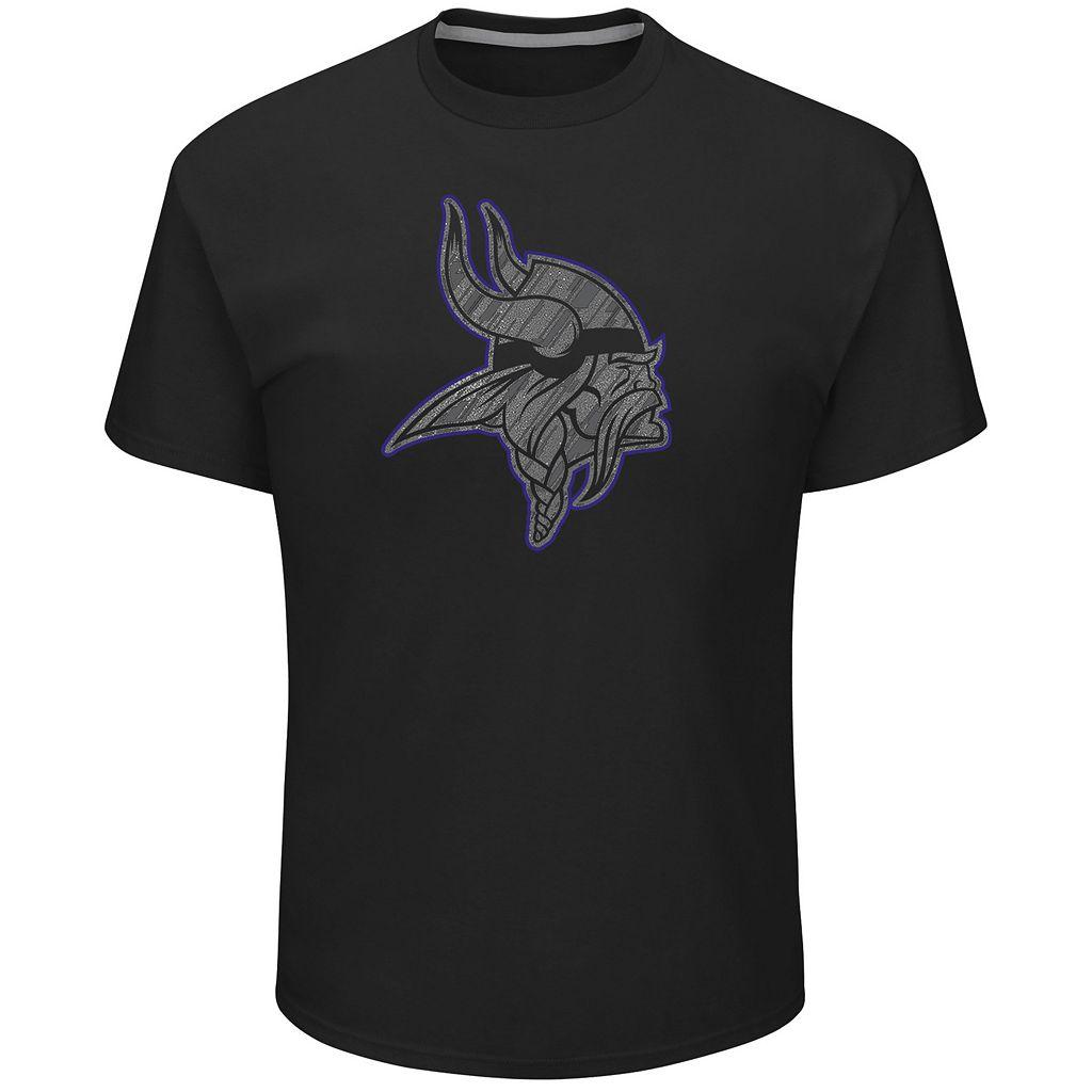 Big & Tall Majestic Minnesota Vikings Tonal Logo Tee