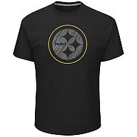 Big & Tall Majestic Pittsburgh Steelers Tonal Logo Tee
