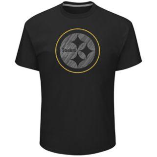 Big & Tall Majestic Pittsburgh Steelers Tonal Logo Tee