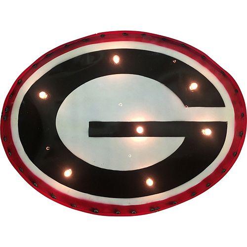 Georgia Bulldogs Light-Up Wall Décor