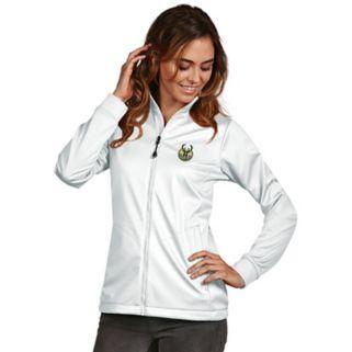 Women's Antigua Milwaukee Bucks Golf Jacket