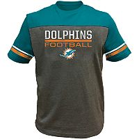 Big & Tall Miami Dolphins Football Tee