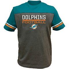 Big & Tall Miami Dolphins Football Tee
