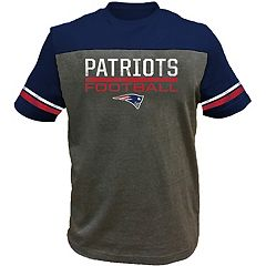 Big & Tall New England Patriots Football Tee
