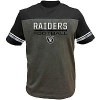 Big & Tall Oakland Raiders Football Tee