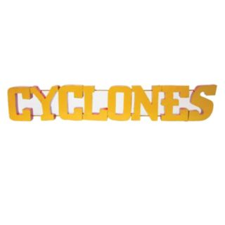 Iowa State Cyclones Metal Wall Décor