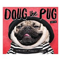 Doug The Pug 2018 Desk Calendar