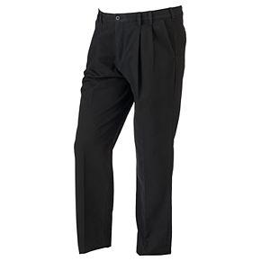 Big & Tall IZOD Classic-Fit Sportflex Performance Plus Stretch Double-Pleated Pants
