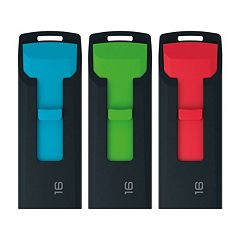 Emtec USB 2.0 16GB Flash Drive (3-Pack)