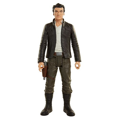 "Star Wars: Episode VII The Force Awakens Deluxe Poe Dameron 18"" Big-Figs Figure"