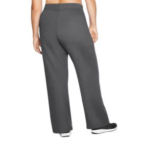 Plus Size Champion Open Bottom Fleece Pants