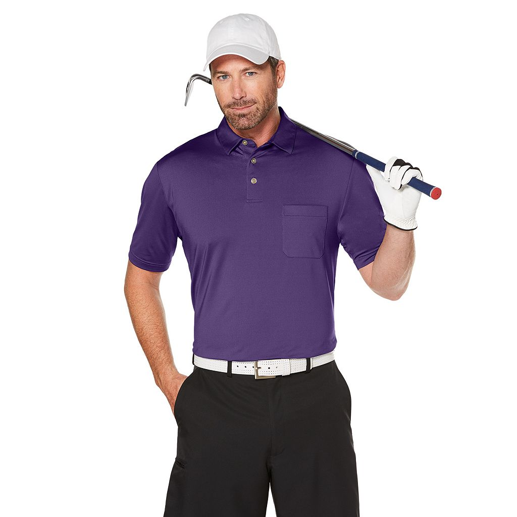 Big & Tall Grand Slam MotionFlow 360 Pocket Performance Golf Polo