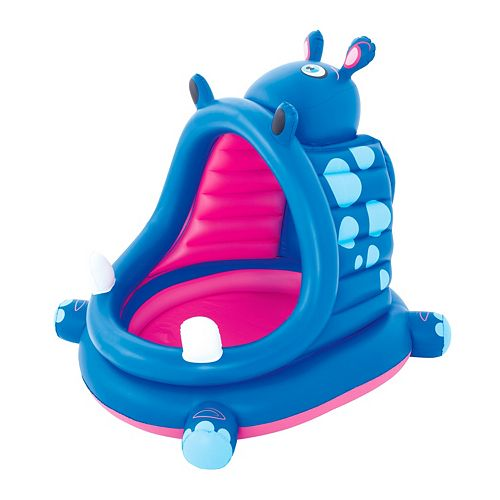 Bestway H2OGO! Covered Hippo Baby Pool
