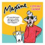 Maxine 2018 Daily Desk Calendar