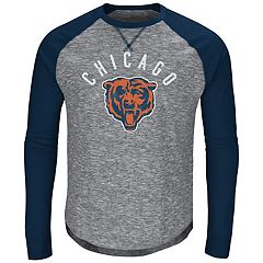 Big & Tall Majestic Chicago Bears Hyper Raglan Tee