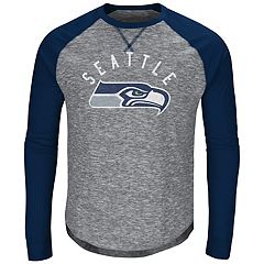 Big & Tall Majestic Seattle Seahawks Hyper Raglan Tee
