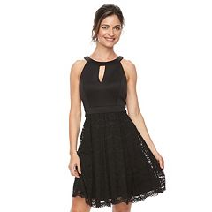 Women's Jessica Howard Lace Fit & Flare Dress
